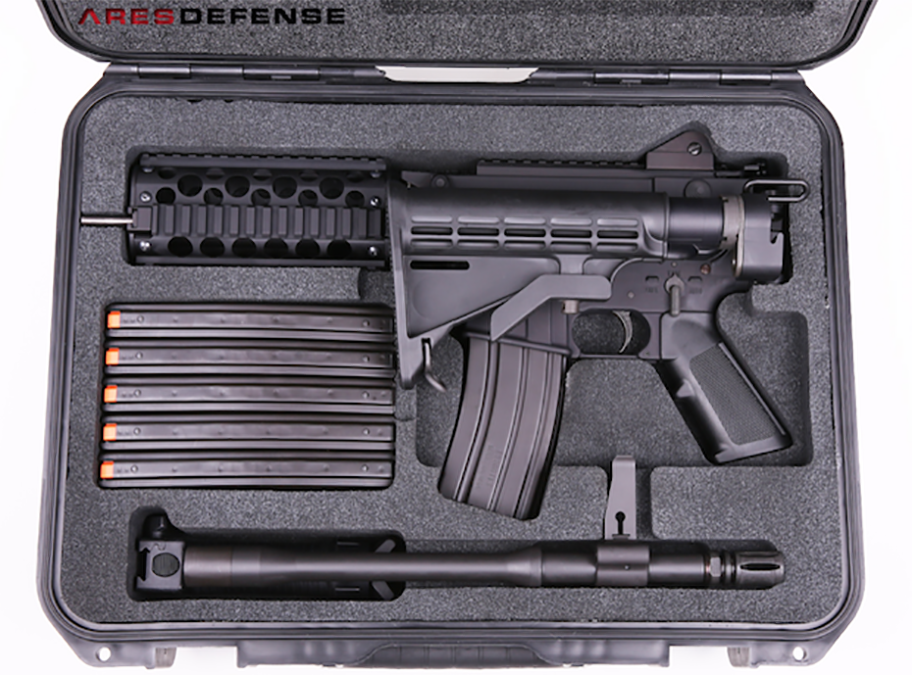 ARES Defense Now Shipping MCR Sub-Carbines
