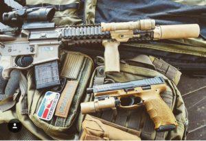 The pistol brace