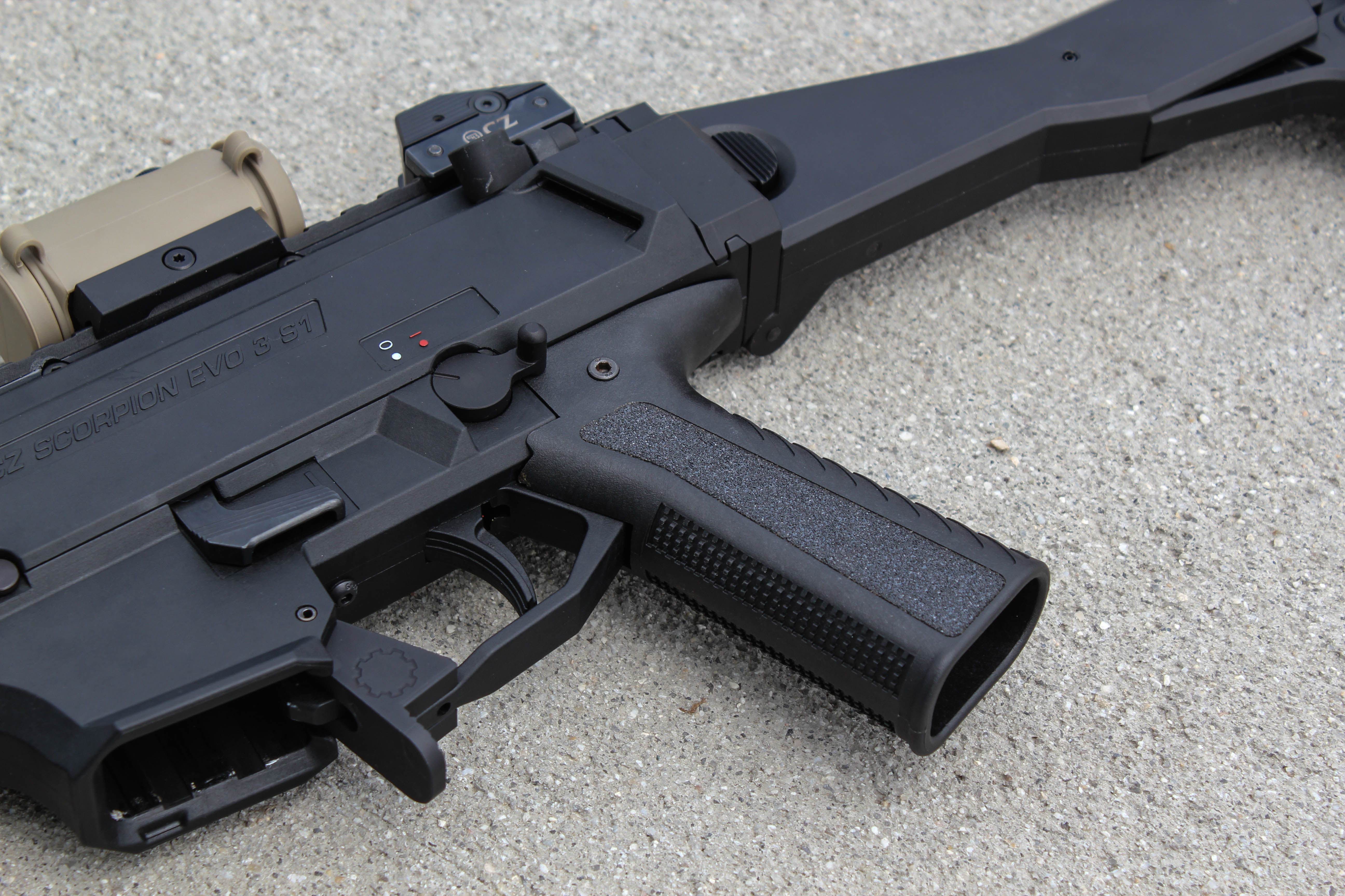 Aftermarket Grips for the CZ Scorpion EVO 3 | Rainier Arms Blog