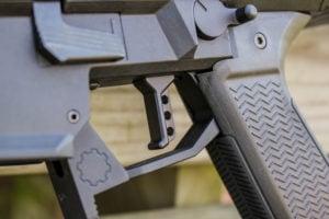 HBI's Theta Forward trigger in black