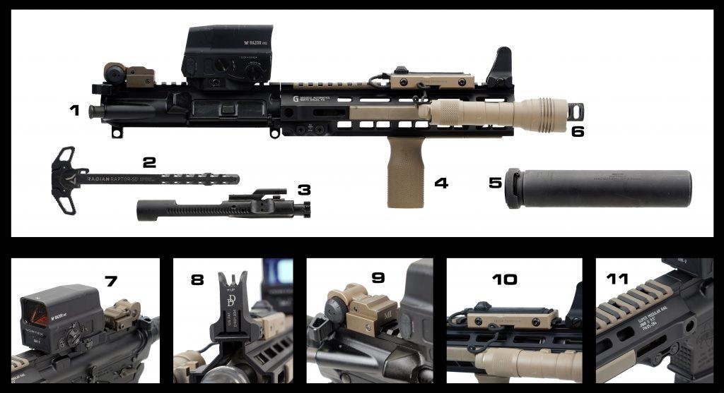 Build 2 parts list 1-11