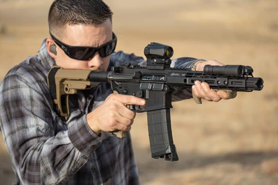 AR Pistol Shooter  on Range 1