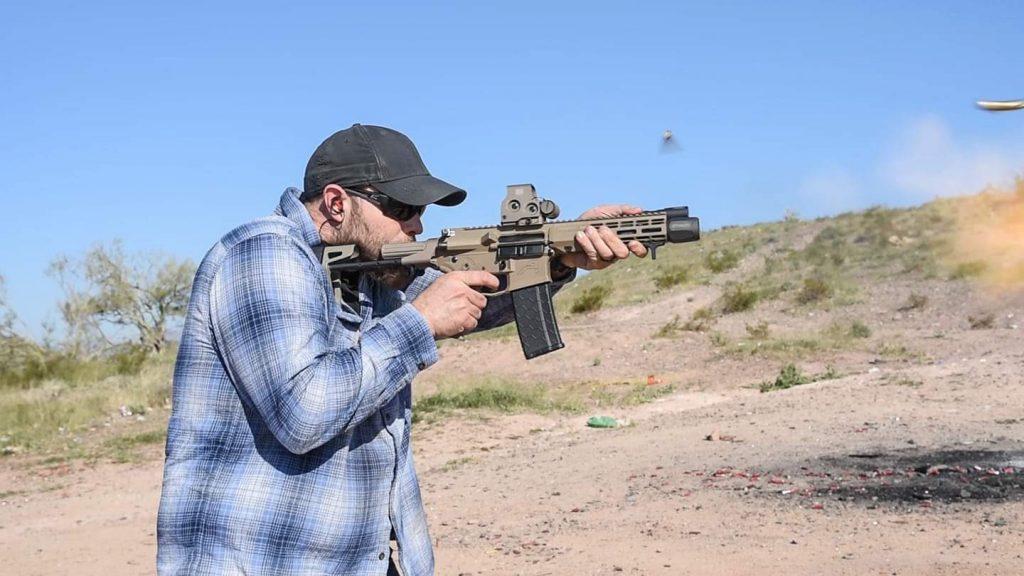 Ar Pistol Shooter Burst Mode