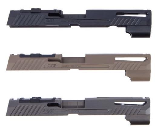 Grey Ghost Sig Sauer P320 Full-size Slide V1
