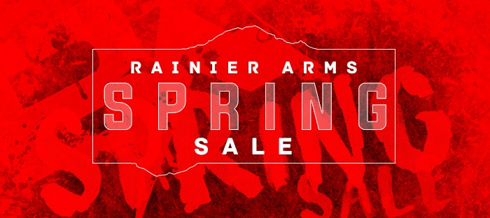 Rainier Arms Spring Sale