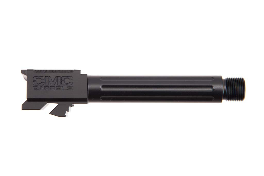 CMC Glock 19 Fluted Barrel Threaded