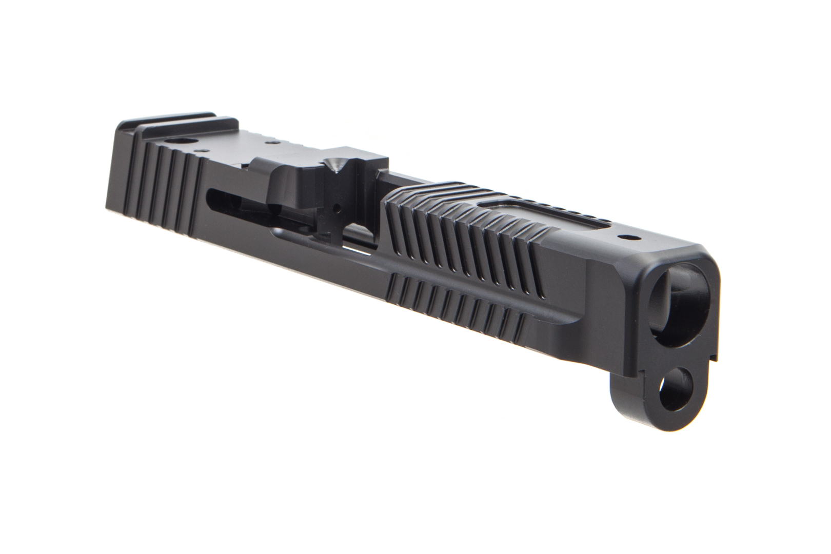 Faxon Firearms M&P Full Size Patriot Stripped Slide - DLC Black