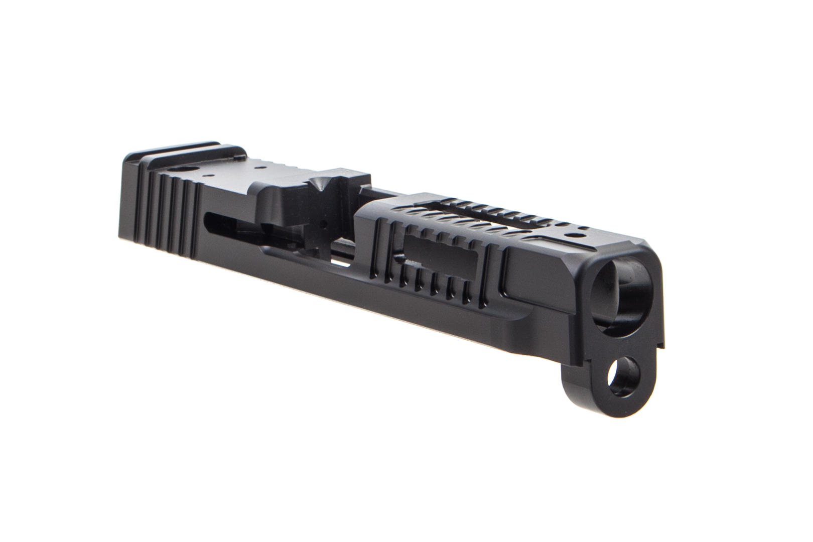 Faxon Firearms M&P Full Size Hellfire Stripped Slide - DLC Black