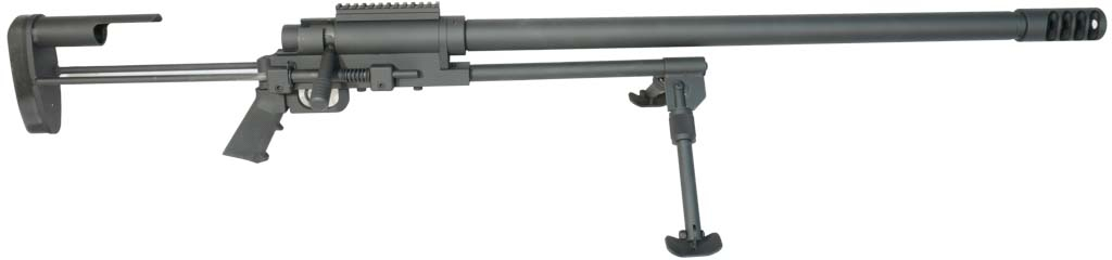 Noreen Firearms ULR .50 BMG Bolt Action Rifle - 34""