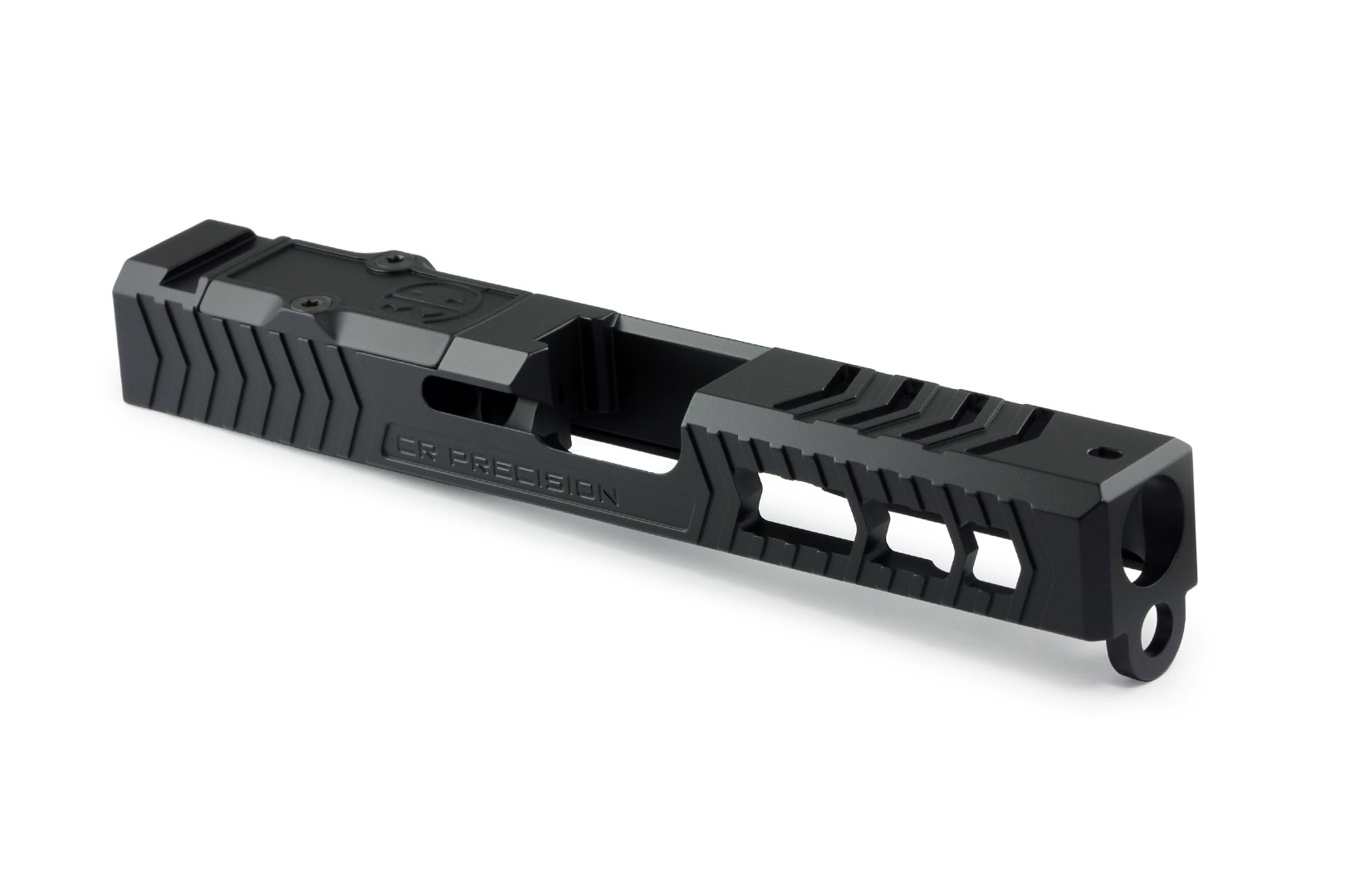 "CR Precision Glock 19 ""OG"" Stripped Slide - Black"
