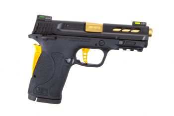 Smith & Wesson M&P Performance Center 380 Shield EZ M2.0 Pistol - Black/Gold