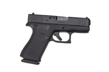 Glock 43X 9mm 10Rd Pistol - Black - Standard Sights