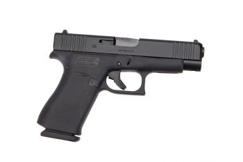 Glock 48 9mm 10Rd Pistol - Black - Standard Sights