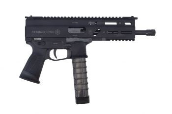 GRAND POWER Stribog SP9A3 9mm Sub Pistol - 8""