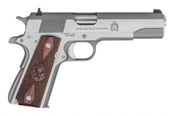 "Springfield Armory 1911 Mil-Spec .45ACP Pistol -  5"" Stainless Steel"