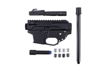 Quarter Circle 10 Side Charging Small Frame (Glock Compatible) 9MM Builders Kit