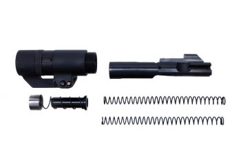 Dead Foot Arms BCM - MCS 9MM - With Right Side Folding Stock Adaptor - Gen 2