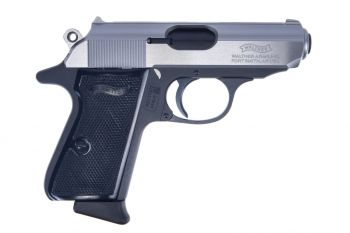 Walther PPK/S .380ACP Pistol - Stainless Steel Two-Tone