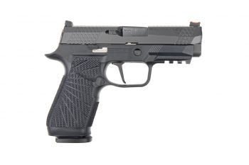 Wilson Combat WCP320 Carry 9mm Pistol w/ Action Tuned Straight Trigger - Black