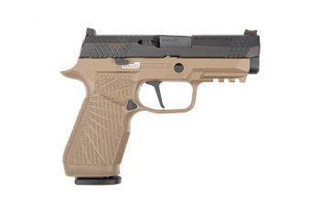 Wilson Combat WCP320 Carry 9mm Pistol w/ Action Tuned Straight Trigger - Tan