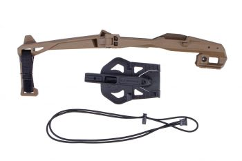 Recover Tactical 20/20 Stabilizer Kit w/ Sling & Holster For Glock - Tan