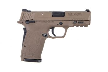 Smith & Wesson M&P Shield EZ M2.0 9mm Pistol w/  Manual Thumb Safety - FDE 8rd