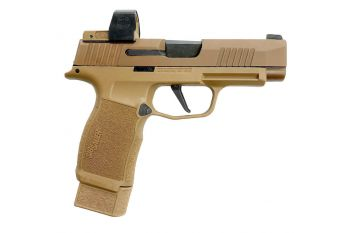 Sig Sauer P365XL NRA 9MM Pistol w/ Romeo Zero Red Dot - 15rd Coyote