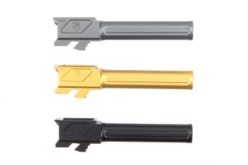 Fortis MFG Match Grade Non-Threaded Barrel For Glock 19 with Lone Rifling