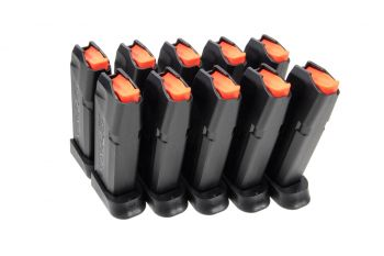 Amend2 A2-19 9mm Magazine For Glock 19 - 15 Rounds (10 Pack)
