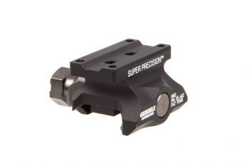 Geissele MRO Series Super Precision Red Dot Mount - Absolute Co-Witness Black
