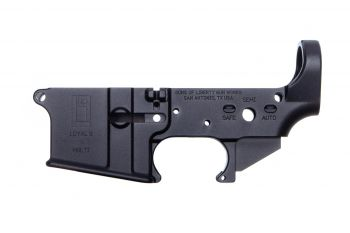 Sons of Liberty Gun Works AR-15 Stripped Lower Receiver - Loyal 9