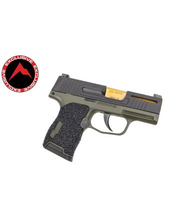 Danger Close Armament Sig Sauer P365 Signature Pistol - OD Green/TiN