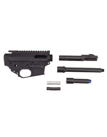 Quarter Circle 10 Rear Charging Glock Small Frame 9MM Builders Kit - 7.5""