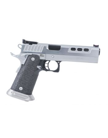 STI International DVC-L Hard Chrome w/ Black DLC Barrel Pistol - 9MM