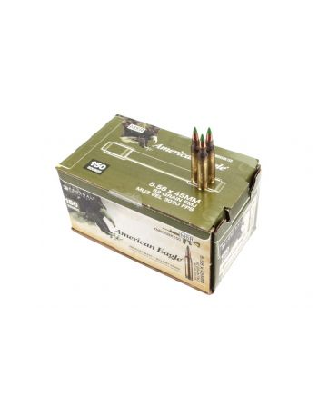 FEDERAL American Eagle 5.56x45MM 62gr FMJ 150 Rd Box