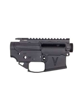 V Seven Weapon Systems 2055 Ex-Enlightened Matched Receiver Set - AR15