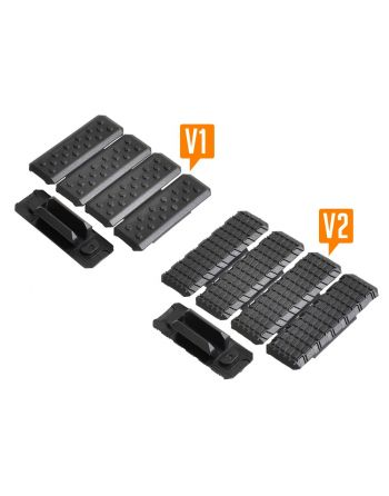Strike Industries M-LOK Rail Cover V2 - 5pcs Black