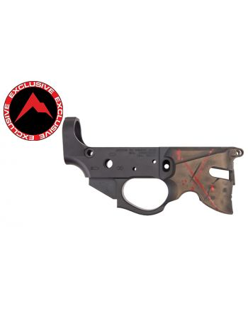 Rainier Arms Overthrow Stripped Lower Receiver - Blowndeadline Bronze Helmet Edition