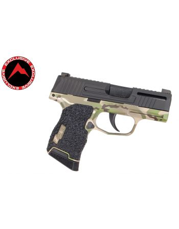 Danger Close Armament Sig Sauer P365 Signature Pistol - Woodland Camo (Rainier Arms Exclusive)