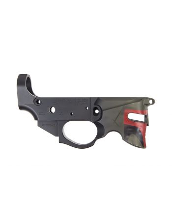 Rainier Arms Overthrow Stripped Lower Receiver - Blowndeadline Bounty Hunter Limited Edition