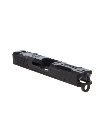 "CR Precision Glock 19 ""V2"" Stripped Slide -  Black"