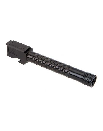 Zev Technologies Match Grade G17 Suppressor Threaded Dimpled Barrel - DLC