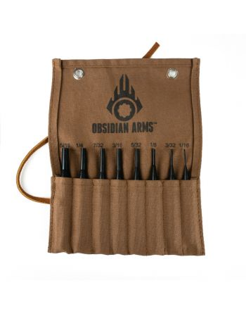 Obsidian Arms Drive Pin Punch Set - 8 Piece