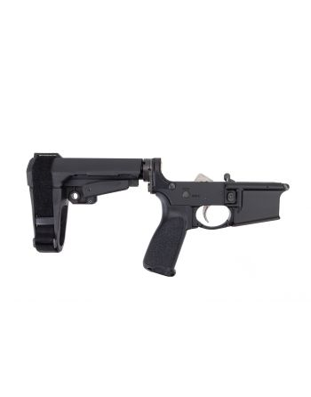 Bravo company MFG (BCM) Lower Receiver Group w/ SBA3 Pistol Brace - Black