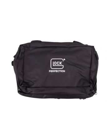 Glock Perfection 4-Pistol Nylon Range Bag - Black