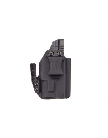 ANR Design Glock 19 RMR APL Appendix IWB RH Holster with Polymer Claw - Black