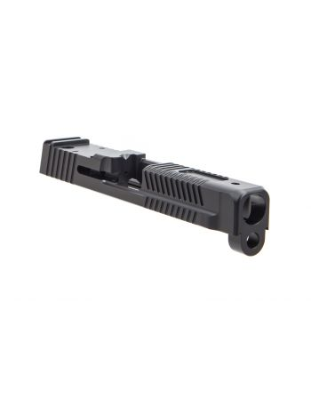 Faxon Firearms M&P Full Size Patriot Stripped Slide w/ Optic Cut - DLC Black