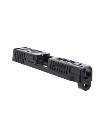 Faxon Firearms M&P Full Size Hellfire Assembled (No Sights) Slide w/ Optic Cut - DLC Black