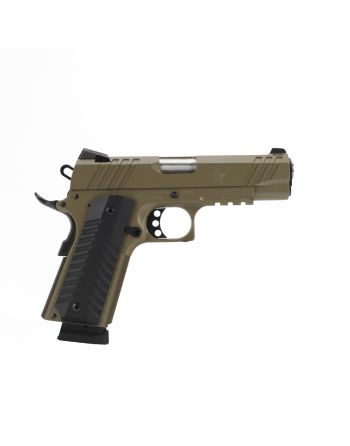 "Devil Dog Arms DDA-1911 Tactical Pistol - 4.25"" FDE"