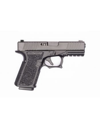 Polymer80 PFC9 Compact 9mm (Threaded/Fluted Barrel & Night Sights) Pistol -  10RD Black (PRE-ORDER)